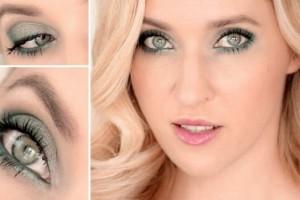 Ежедневный макияж для зелёных глаз