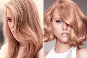 Варианты перекрашивания из блондинки - модные тенденции 2019