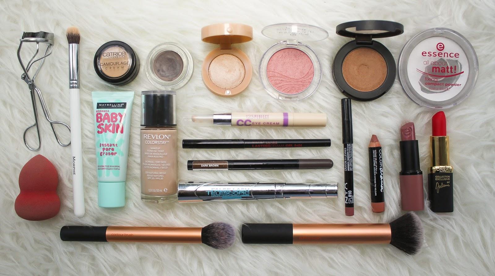 Что нужно купить из косметики чтобы сделать макияж купить косметику корал в минске